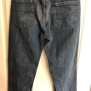 Men's Levi Strauss 514 Jeans. Size 34 x 32